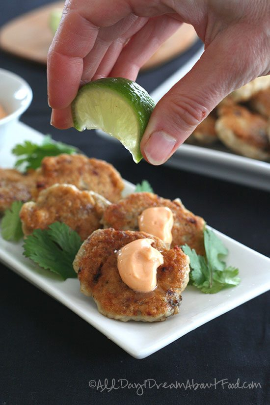 Low Carb, Gluten-Free Thai Fish Cakes