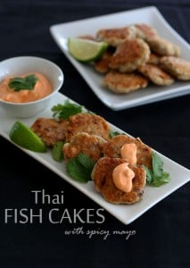 Low Carb Thai Fish Cakes with barramundi