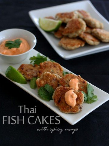 Low Carb Thai Fish Cakes with barramundi
