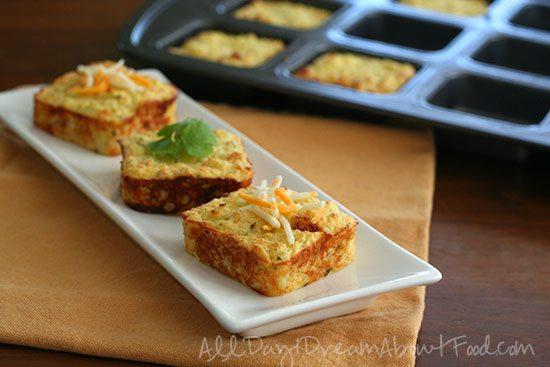 Low Carb Gluten-Free Cheesy Cauliflower Puffs
