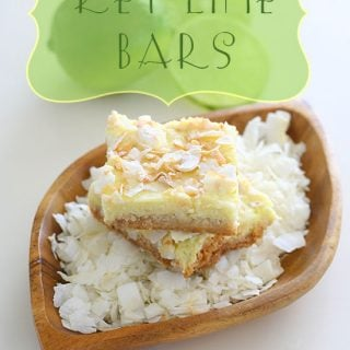 Key Lime Coconut Bars