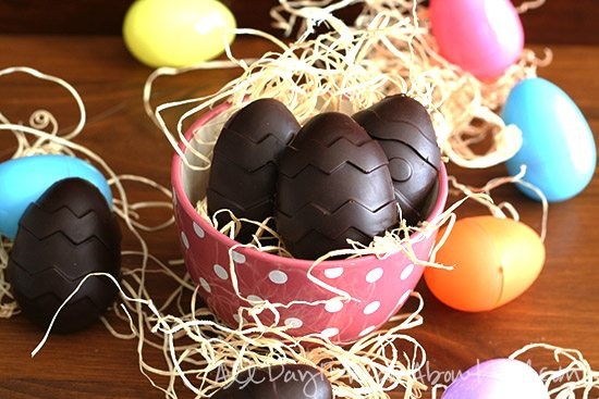 Low Carb Easter Cream Eggs