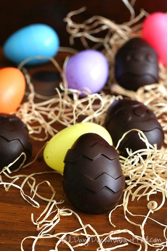 Sugar-Free Copycat Easter Creme Eggs