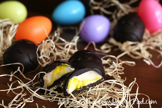 Healthy Sugar-Free Easter Creme Egg Recipe