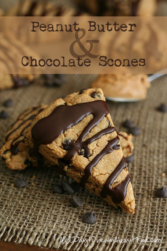 Peanut Butter Chocolate Scones – Low Carb and Gluten-Free