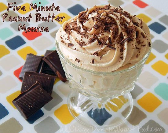 5 Minute Peanut Butter Mousse – Low Carb and Gluten-Free