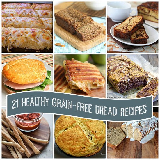 21 Healthy Grain-Free Bread Recipes Paleo Low Carb