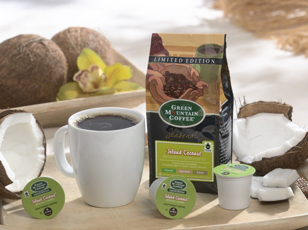 island coconut bag and kcup