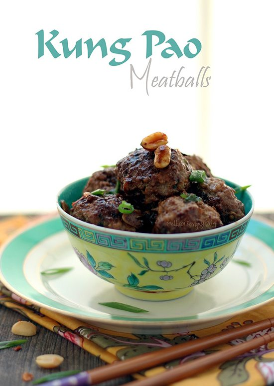 Low Carb Kung Pao Meatballs