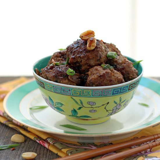 Low Carb Kung Pao Meatball Recipe
