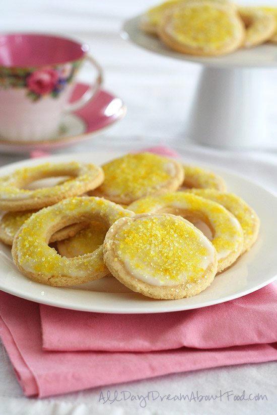Low Carb Easter Lemon Cookies