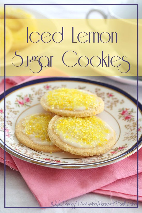 Low Carb Lemon Sugar Cookies