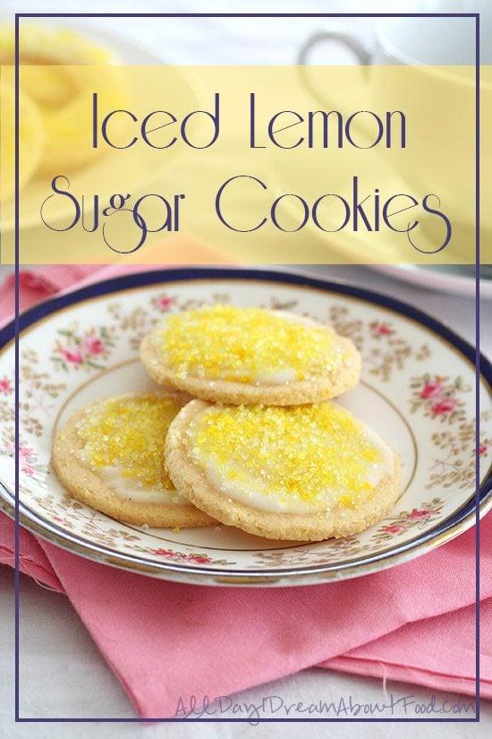 Low Carb Lemon Sugar Cookies