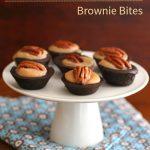Low Carb Pecan Caramel Brownie Bites