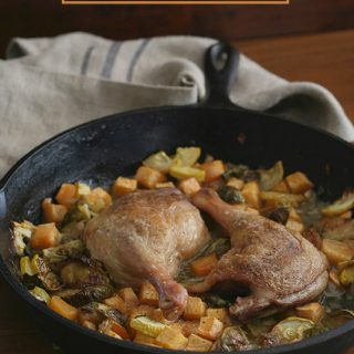 Paleo Low Carb Crispy Duck Legs