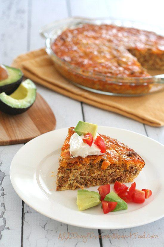 Gluten-Free Taco Pie Recipe