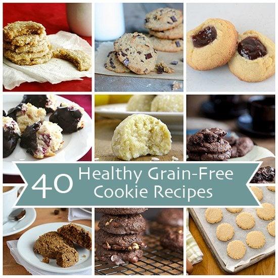 40 Low Carb Paleo Grain-Free Cookie Recipes