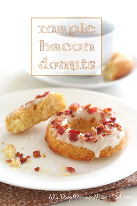 Low Carb Maple Bacon Donuts