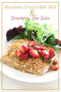 Low Carb Macadamia Crusted Mahi Mahi Recipe