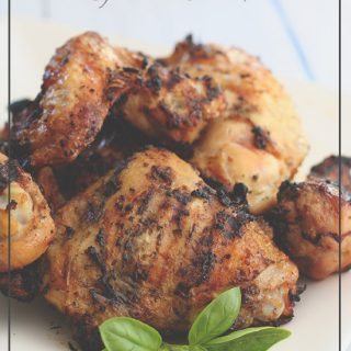 Paleo Coconut Basil Grilled Chicken Recipe