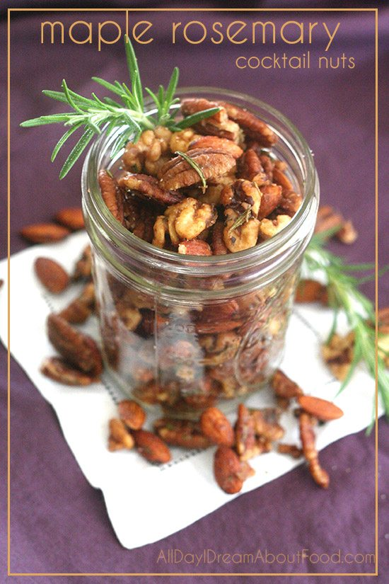 Low Carb Maple Rosemary Nut Recipe