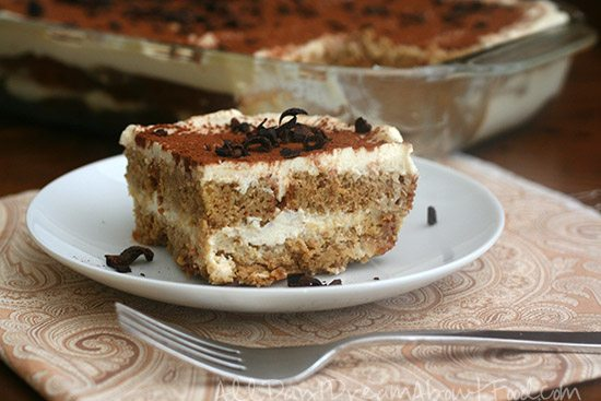 Low Carb Pound Cake Recipes: Low Carb Gluten-Free Tiramisu Recipe