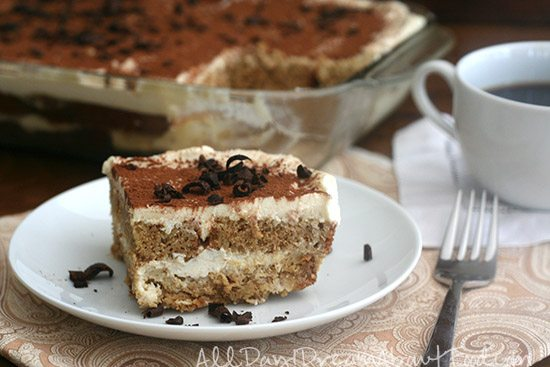 Low Carb Grain-Free Tiramisu Recipe