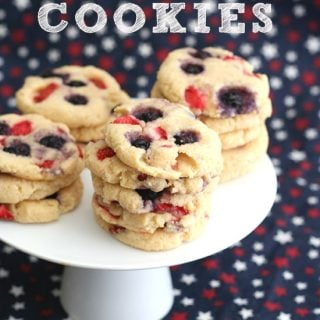 Low Carb Strawberry Cream Cheese Cookies