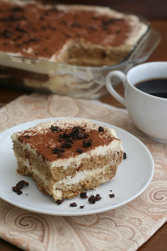 Low Carb Pound Cake Tiramisu