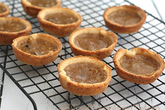 Low Carb Gluten-Free Butter Tart Recipe