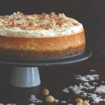 titled image - Coconut Cheesecake with Macadamia Nut Crust