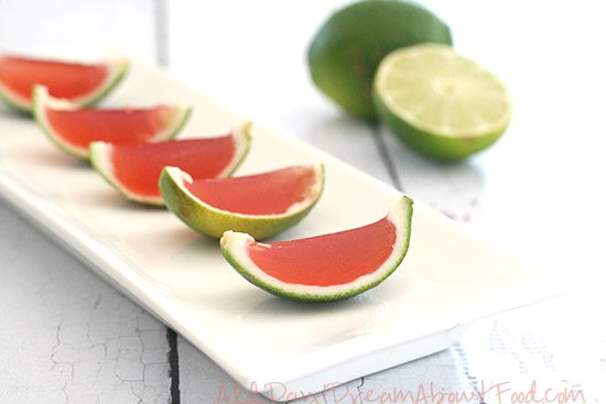 Low Carb Cosmopolitan Jelly Shots