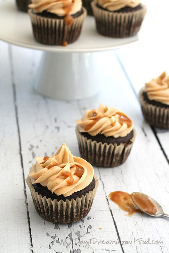 Low Carb Salted Caramel Cupcake Recipe