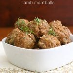 Low Carb Tandoori Spiced Meatballs