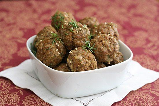 Paleo Lamb Meatballs with Tandoori Spices