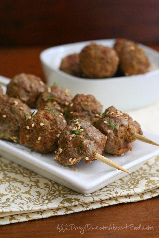 Low Carb Grain Free  Lamb Meatball Recipe