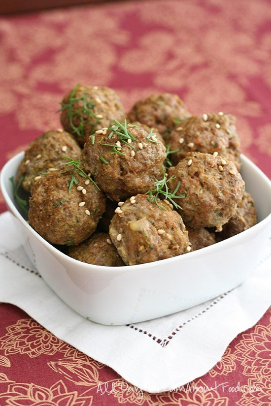 Low Carb Spicy Lamb Meatball Recipe