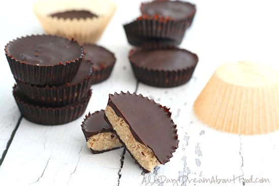 Low Carb Dark Chocolate Coconut Caramel Cups