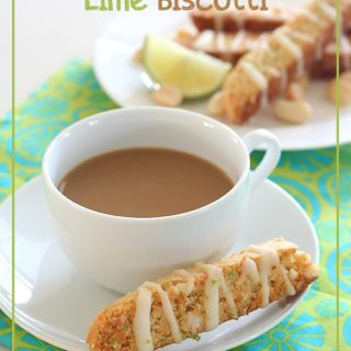 Low Carb Macadamia Lime Biscotti Recipe