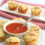 Low Carb Mini Pizza Muffins