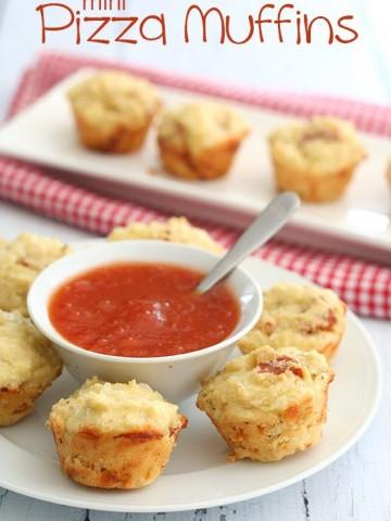 Low Carb Mini Pizza Muffins
