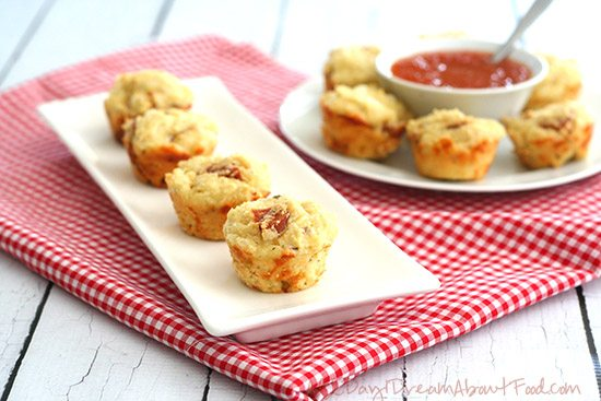 Low Carb Grain-Free Mini Pizza Muffins
