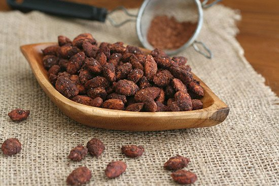 Sugar Free Mocha Dusted Almonds