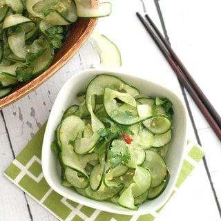 Easy Thai Cucumber Salad Recipe
