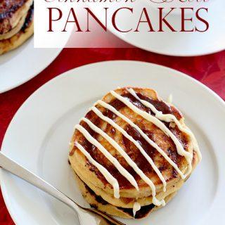 Cinnamon Roll Pancakes – Low Carb & Gluten Free