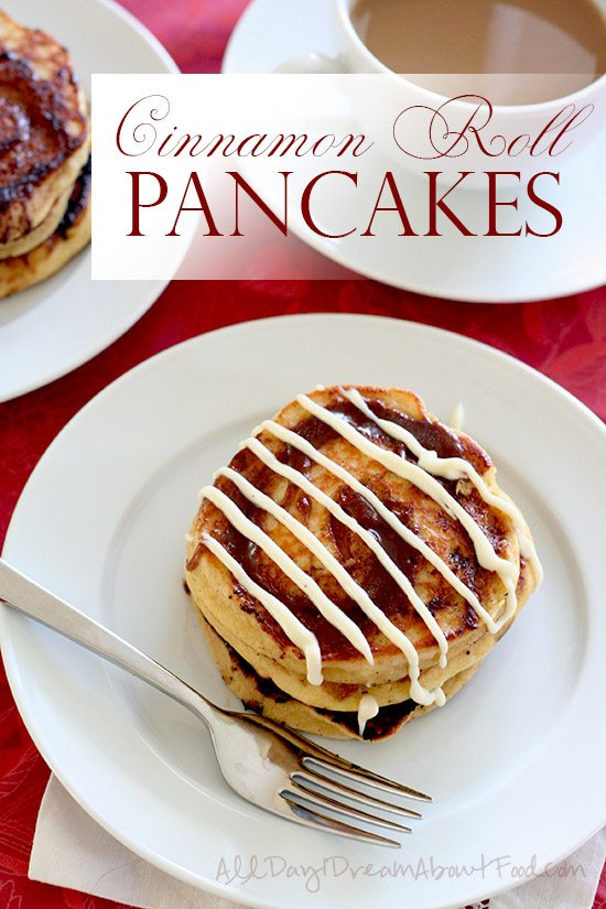 Low Carb Cinnamon Roll Pancakes Recipe