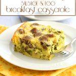 low carb slow cooker breakfast casserole