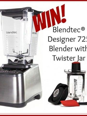 Blendtec 725 Designer Blender with Twister Jar