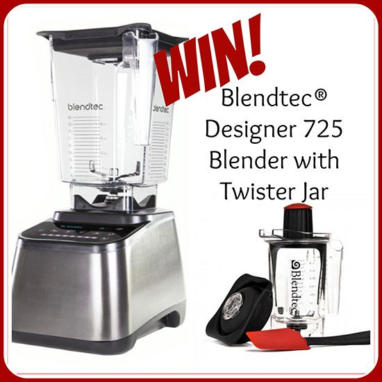 Blendtec 725 Designer Blender with Twister Jar