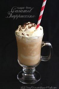 Low Carb Sugar-Free Caramel Frappuccino